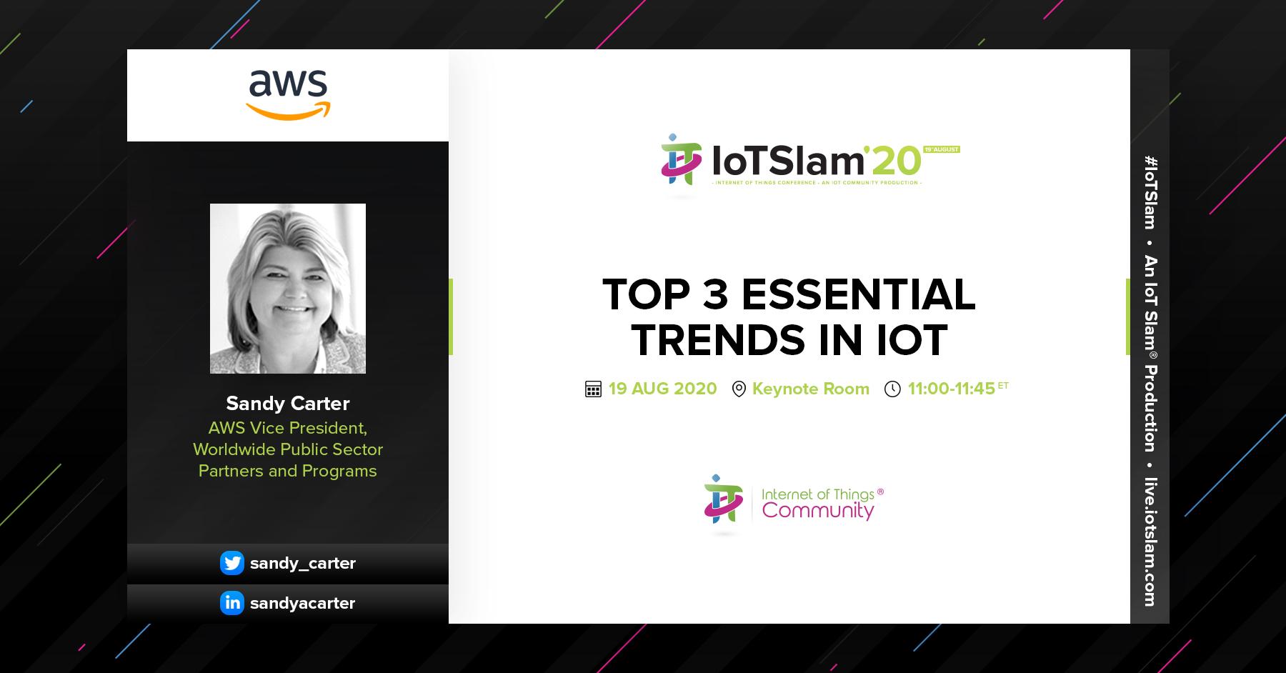 Top 3 essential trends in IoT