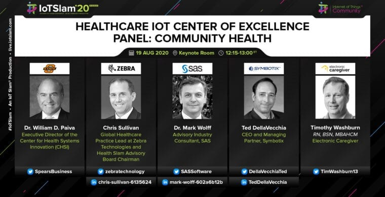 Healthcare IoT Center of Excellence – Community Health